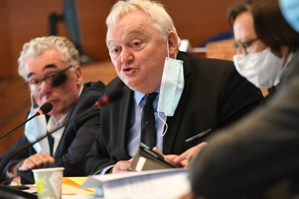 Clément Pernot, président du conseil départemental du Jura.