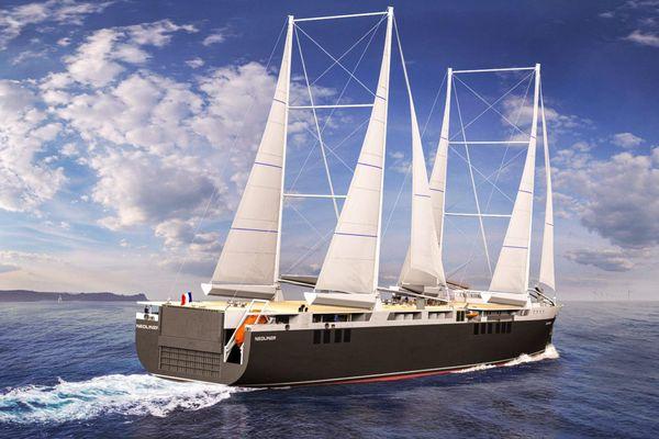 Le lancement du cargo à voile Neoline est prévu en 2022