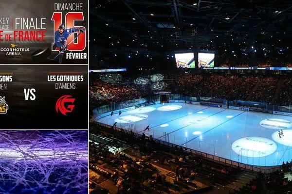 La finale de la Coupe de France de Hockey sur glace a lieu le 16 février 2020 à l'AccorHotels Arena à Paris.