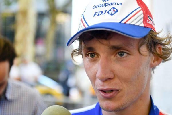 Valentin Madouas disputera son premier Tour de France
