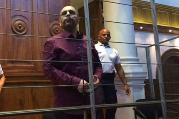 Kamel Bousselat, à son procès aux assises du Gard à Nîmes - 14 juin 2016
