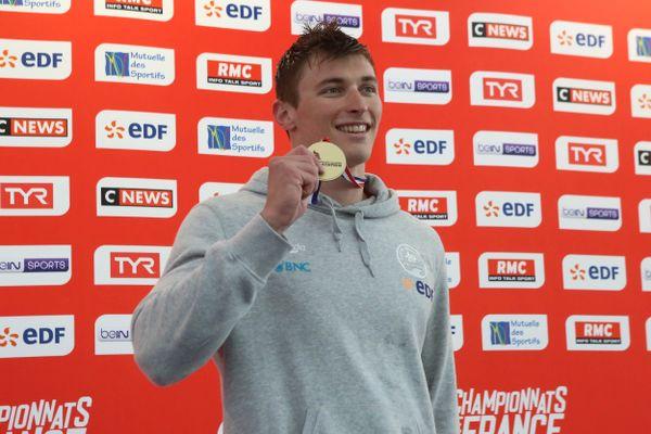 Maxime Grousset est l'un des trois amiénois a avoir obtenu sa qualification olympique.