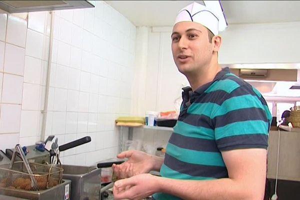 """Hussein Abou Ghaida, Restaurateur """"Tawouk et Falafel""""  à Orléans"""