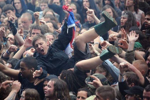 112 000 festivaliers étaient présents à Clisson en 2012