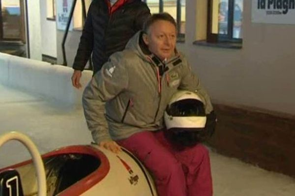 Thierry Braillard a testé le bobsleigh