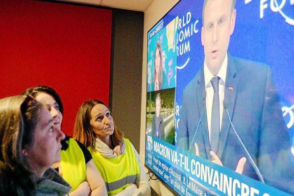 Macron au 20h00 face aux Gilets Jaunes