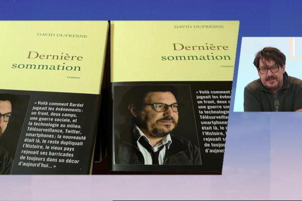 David Dufresne vient de publier Dernière sommation, son premier roman.