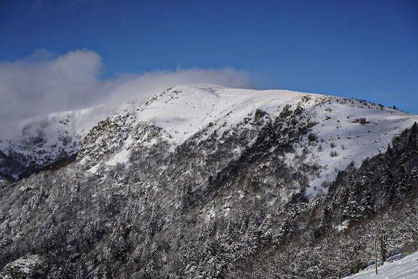 Le Hohneck sous la neige