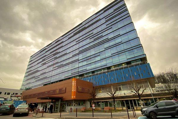 Le centre hospitalier de Brive.