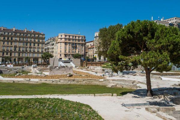 25/09/2019 - Patrimoine. Le nouveau visage du Port antique, réouverture après un an de travaux à Marseille (Bouches-du-Rhône).