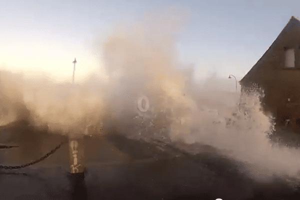 Tempête de 2014: Stéphane a filmé la tempête à St Malo, mais pas que.....