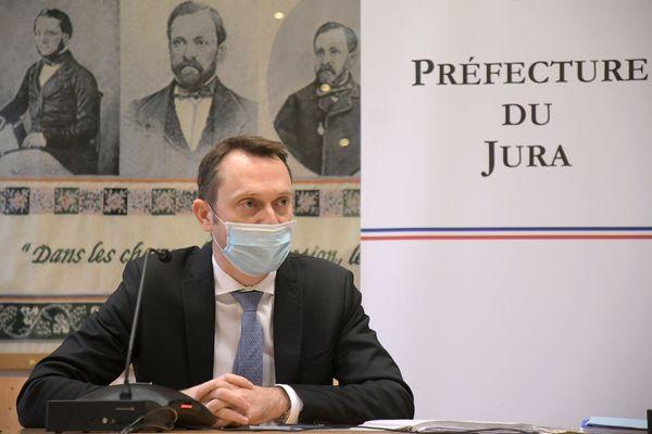 David Philot, préfet du Jura.