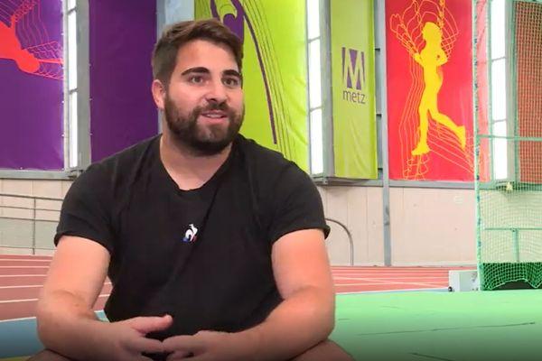 Quentin Bigot rêve du podium olympique