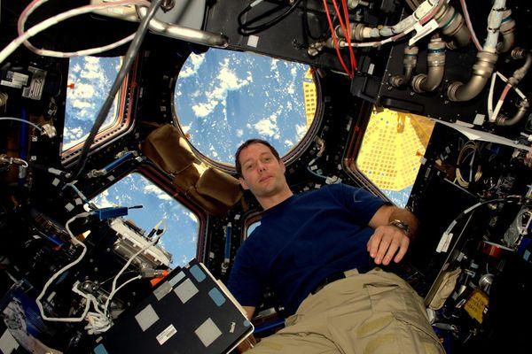 Fin décembre, l'astronaute français avait communiqué avec des jeunes nordistes, 400 kilomètres au-dessus de leurs têtes.