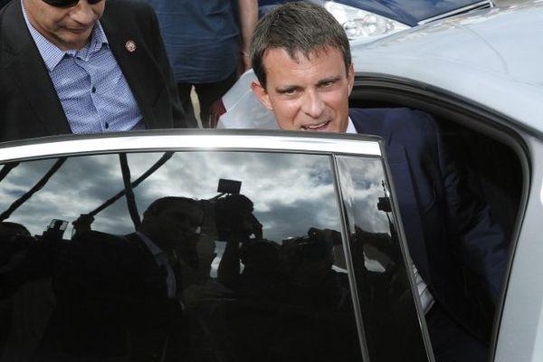 Manuel Valls, le Premier ministre, à La Rochelle.
