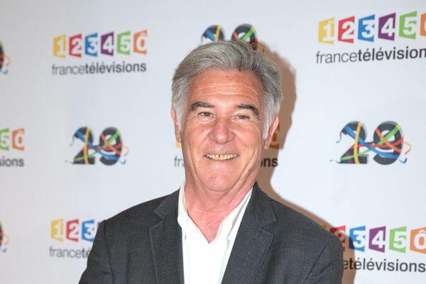 Georges Pernoud lors de la présentation de la grille de rentrée 2017 du groupe france televisions - 29 juin 2016 -