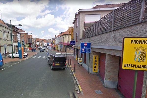 A Menin, à la frontière belge, de nombreux commerces souffrent de l'absence des clients français.