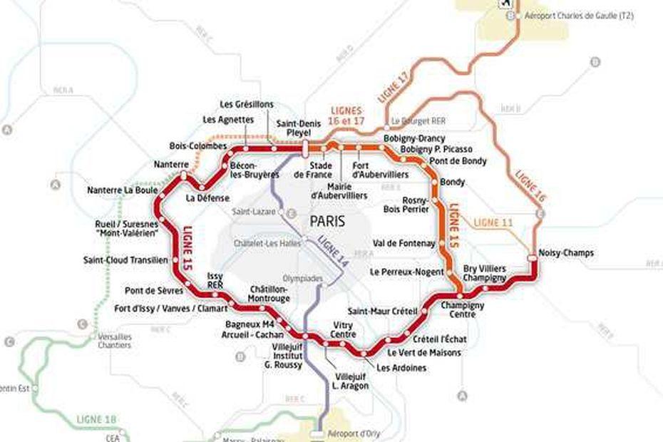 Grand Paris express : la ligne 15 Est déclarée d'utilité publique