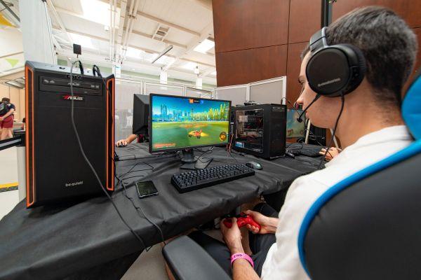 """Les amateurs de jeux vidéos sont invités au festival """"Start to play"""" les 4 et 5 septembre."""