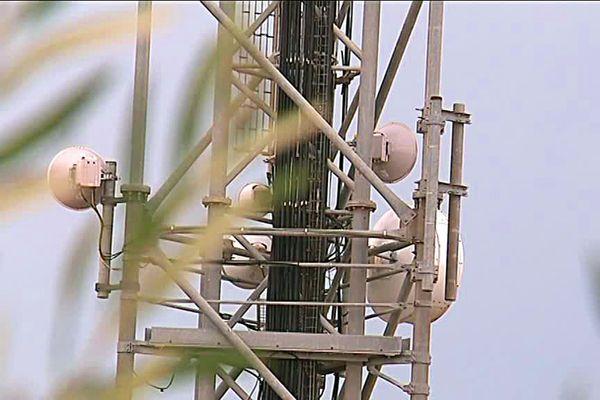 Antenne relai à Béziers dans l'Hérault