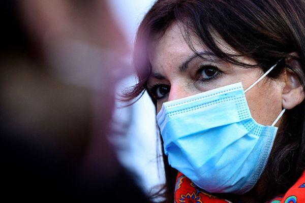 Anne Hidalgo à Nancy, le 19 février 2021.