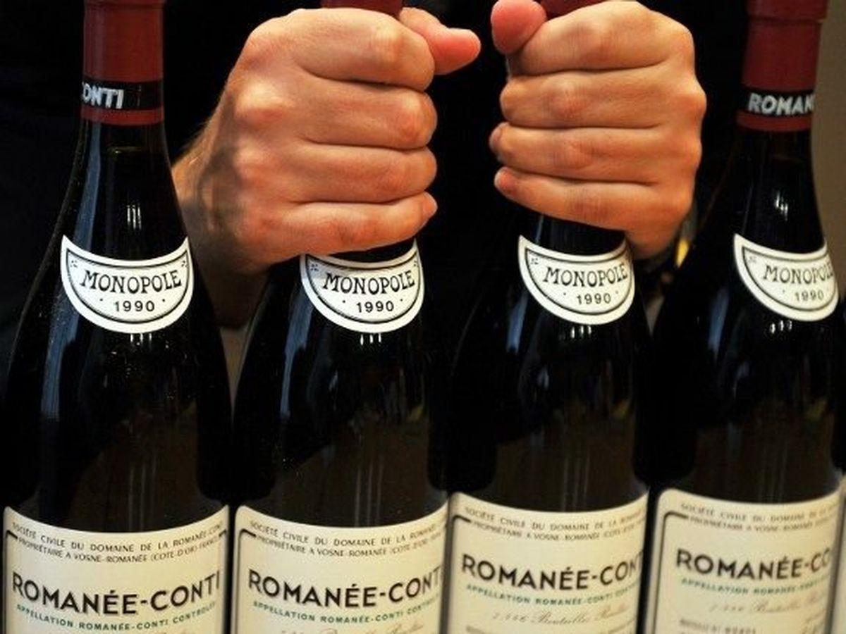 Des bouteilles de Romanée-Conti vendues plus de 10 millions d'euros