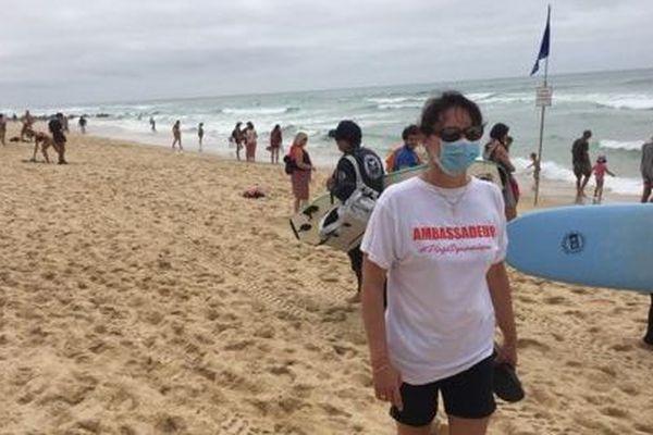 Une trentaine de bénévoles arpentent les plages canaulaises pour sensibiliser les plagistes.