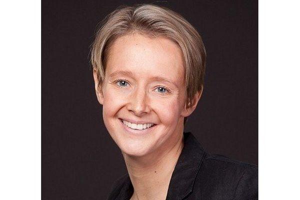 Laurence Garnier candidate UMP à l'élection municipale à Nantes en 2014