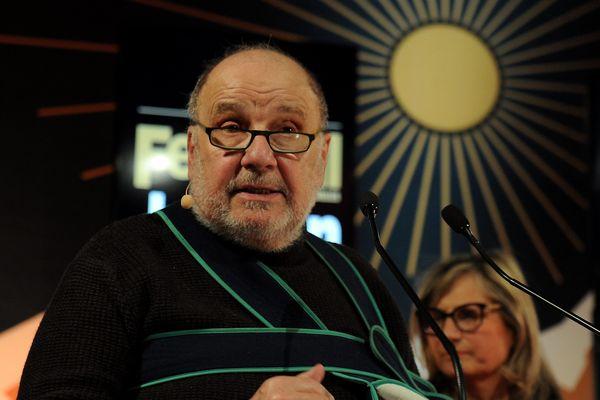 Serge Moati lors de la 20 ième édition du festival de Luchon