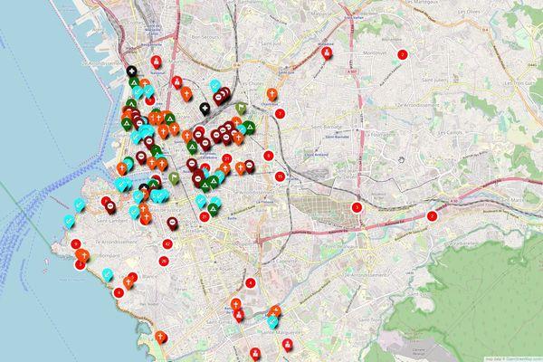 Situation à Marseille, le 29 novembre 2019