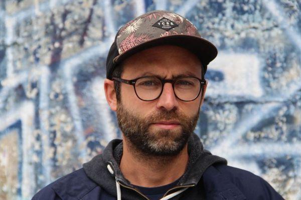 Samuel Petit, réalisateur du documentaire Rock! Quelques histoires nantaises diffusé sur France 3 Pays de la Loire le 14 octobre