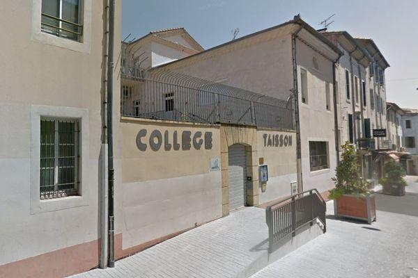 Alès (Gard) - collège catholique privé Taisson - archives.