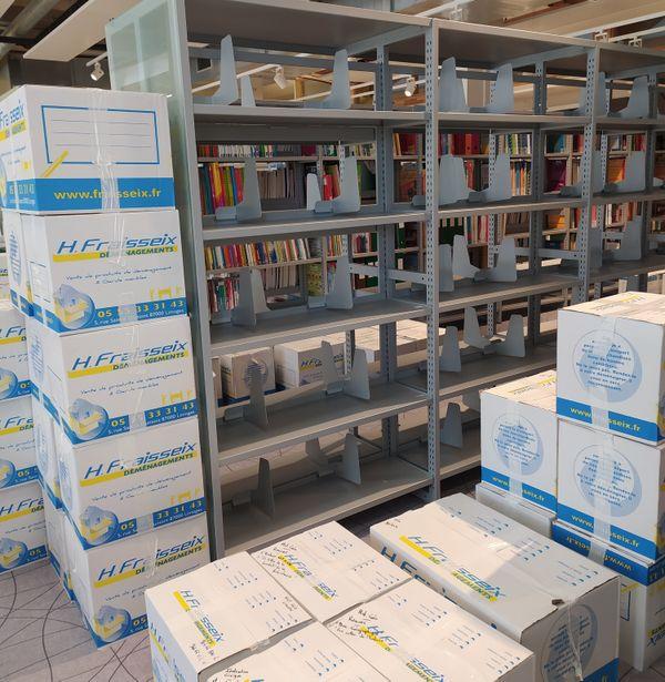 Aménagement de la nouvelle bibliothèque universitaire de Tulle