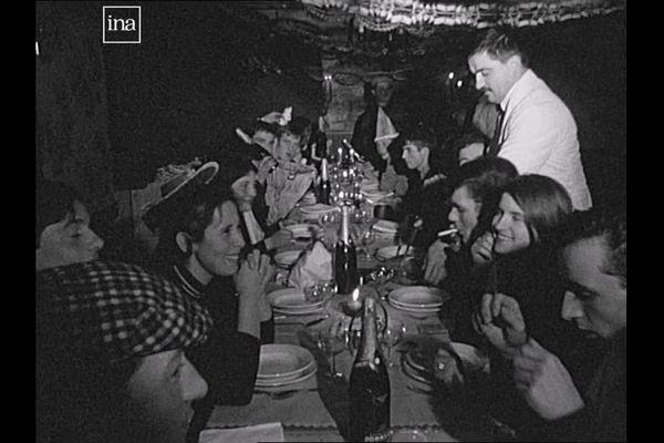 Les conscrits en 1967 à Pontarlier