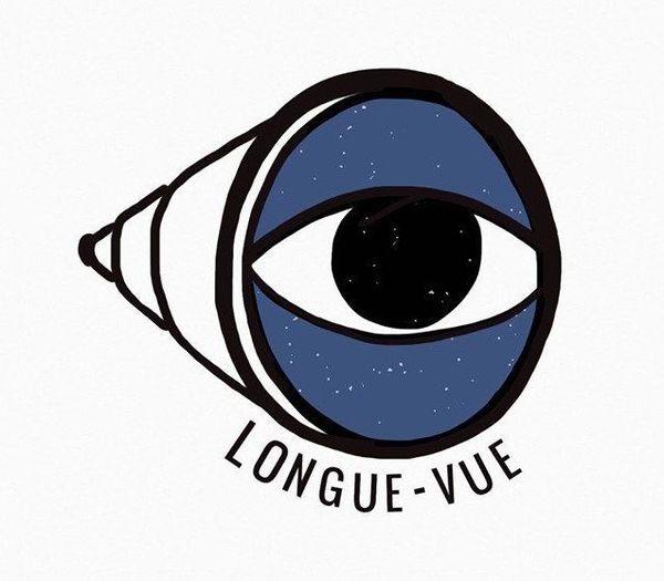 Le logo du podcast Longue-vue, dédié aux changements dus au confinement.