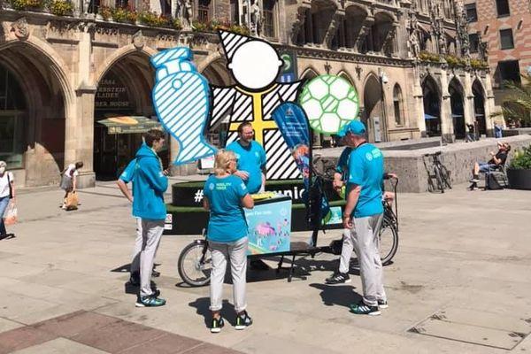 L'Euro se fête dans les rues de Munich.