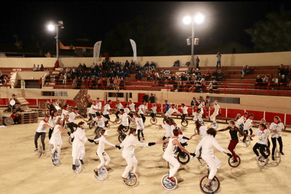Une partie des épreuves de la compétition se déroule aux arènes de Pérols