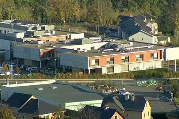 Marvejols (Lozère) - la clinique - 14 novembre 2013.