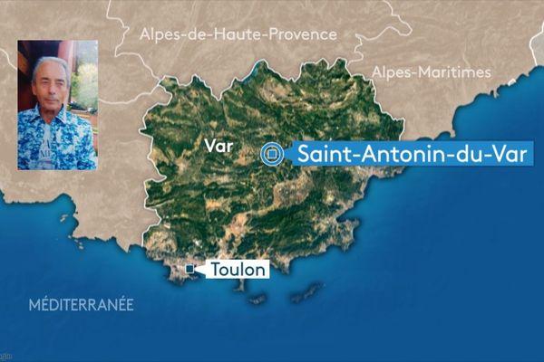 D'importants moyens, plongeurs, hélicoptère, drones, etc, ont été déployés dimanche toute la journée autour de sa maison, a indiqué le maire de Saint-Antonin-du-Var.