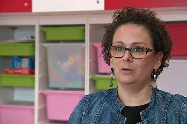 Maud Ramon a retrouvé son emploi d'assistante sociale à Libourne (33) après 16 mois de combat contre le cancer du sein.