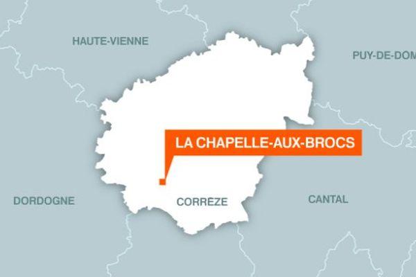 Un mort dans un tragique accident ce matin à La Chapelle-aux-Brocs en Corrèze.