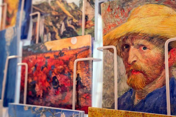 Un autoportrait de Vincent Gogh.