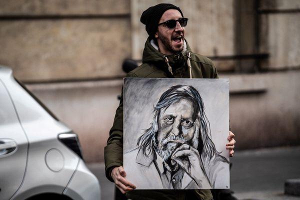 Portrait de Didier Raoult, Paris.