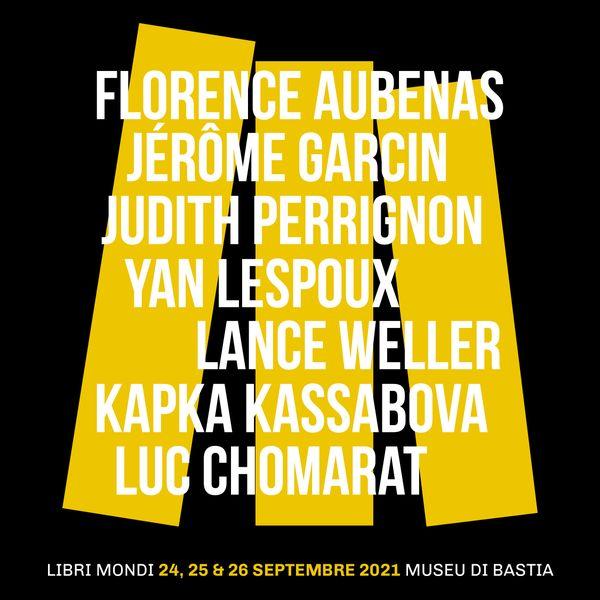 Les rencontres Libri Mondi se déroulent du 24 au 26 septembre 2021 à Bastia, dans les jardins suspendus du Palais des gouverneurs.