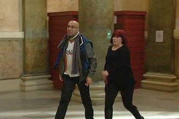 Montpellier - les 2 victimes survivantes arrivent au palais de justice - 29 janvier 2016.
