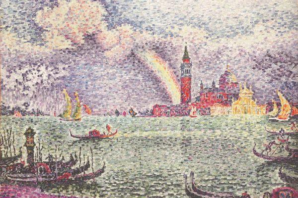 Arc en ciel Venise (1905)- Paul Signac