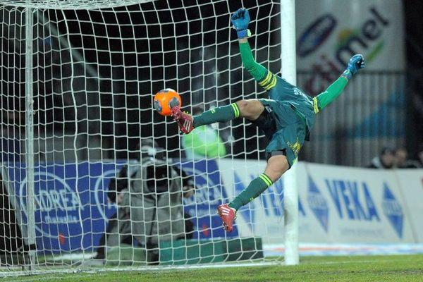 Le deuxième but encaissé pour le FC Nantes à Annecy hier soir.