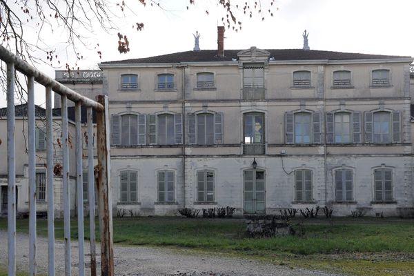 Le château de Saint-Maurice-de-Rémens (Ain), maison d'enfance d'Antoine de Saint-Exupéry - 02/2016