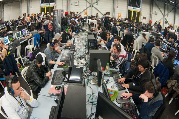 La Gamers Assembly en 2015 à Poitiers.