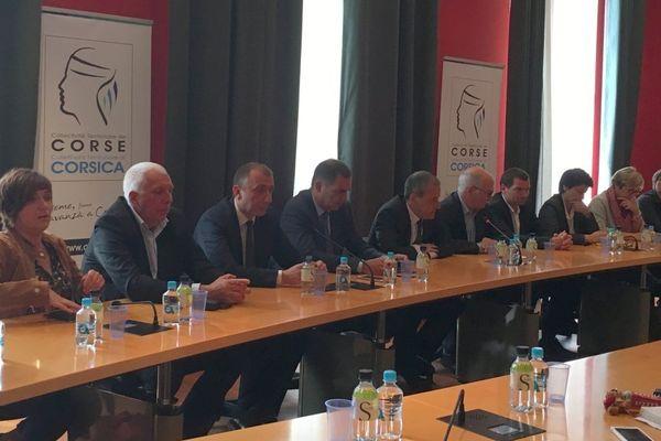 La majorité territoriale (nationaliste) de l'Assemblée de Corse a condamné jeudi 11 mail les interpellations à répétition visant des nationalistes corses ces derniers mois